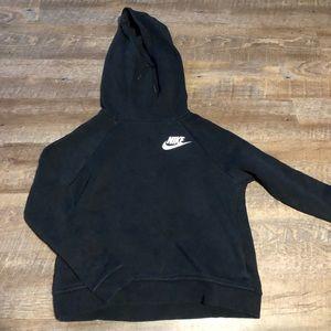 Nike long necked hoodie